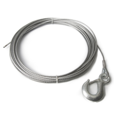 4700 lbs KIMPEX Winch Cable with Hook