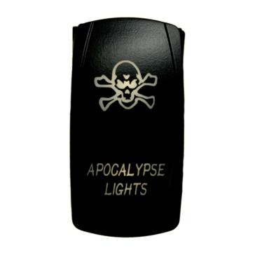QUAKE LED Apocalypse LED Switch Rocker - QRS-AL-W