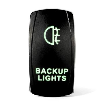 QUAKE LED Backup LED Switch Rocker - QRS-BL-G