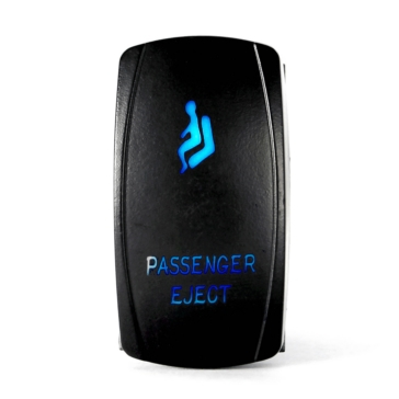 QUAKE LED Passenger Eject LED Switch Rocker - QRS-PE-B