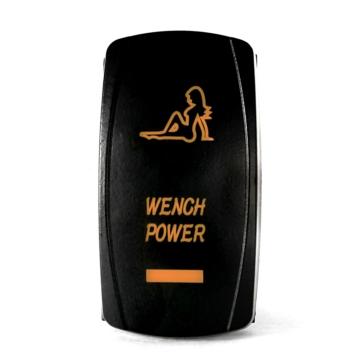 QUAKE LED Wench Power LED Switch Rocker - QRS-WP-A