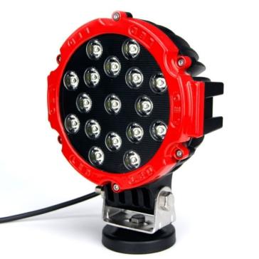 Projecteur de lumière de travail Aftershock QUAKE LED Rouge