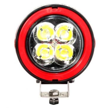Black, Red QUAKE LED Aftershock Work Light Spot