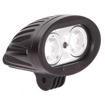 Projecteur de lumière Quantum QUAKE LED Noir