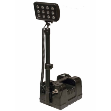QUAKE LED X-90 Portable Light System Black
