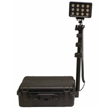 QUAKE LED XL-200 Portable Light System Black