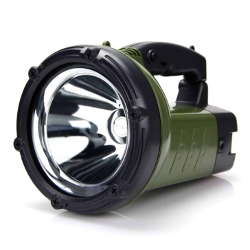 QUAKE LED Green Flashlight