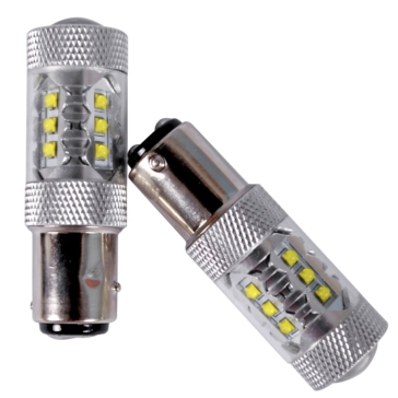 1157 QUAKE LED 80 watts Bulbs