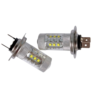 QUAKE LED 80 watts Bulbs H7