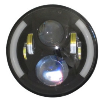 QUAKE LED Tempest Half Halo DRL Headlight