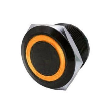 QUAKE LED Interrupteur encastré avec anneau DEL Poussoir - 222693