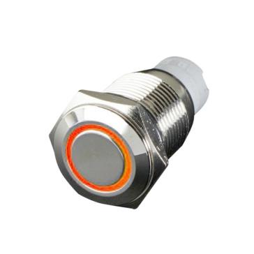 QUAKE LED Flush Mount Switch with LED Ring Push - 222703