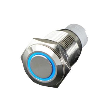 QUAKE LED Interrupteur encastré avec anneau DEL Poussoir - 222699