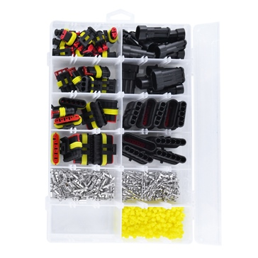 Kimpex HD Universal Connector AMP Kit - 384 pieces 225020