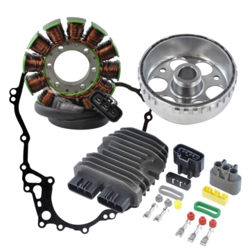 Kimpex Stator, Voltage Regulator Rectifier, Flywheel & Magneto Cover Gasket Ski-doo - 225108