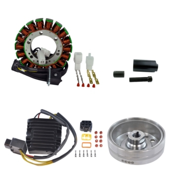 Kimpex Stator, Voltage Regulator Rectifier & Magneto Flywheel Arctic cat - 225302