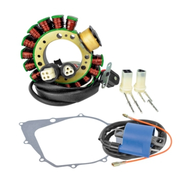 Kimpex HD Stator, Ignition coil and Crankcase Cover Gasket Fits Yamaha - 225403