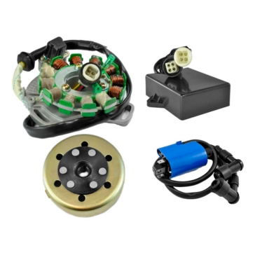 Kimpex HD Stator, CDI Box, Regulator, Flywheel and  Ignition Coil Kit Yamaha - RM22846