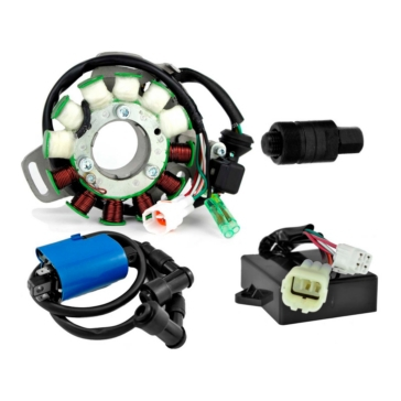 Kimpex HD Stator 100 W, CDI Box, Ignition Coil, Plate and Puller Yamaha - RM22852