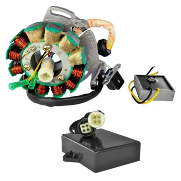 Kimpex Stator 200 W, Voltage Regulator, CDI Box Kit Yamaha - 225415