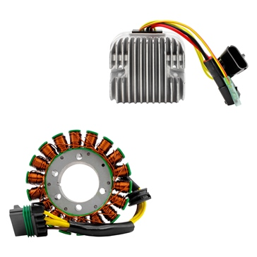 Kimpex HD Ensemble de stator & régulateur de voltage Mosfet Polaris - 225763