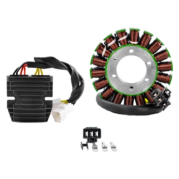 Kimpex HD Generator Stator & Mosfet Voltage Regulator Kit Fits Honda - 225767