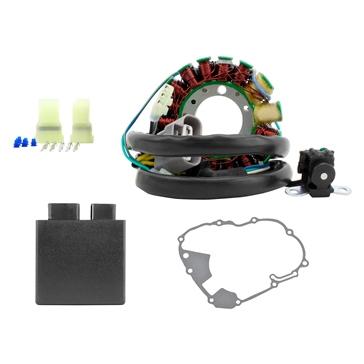 Kimpex HD Ensemble de stator, boîtier électronique et joint d'étanchéité Honda - 225769