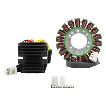 Kimpex HD Generator Stator & Mosfet Voltage Regulator Kit Fits Triumph - 225770