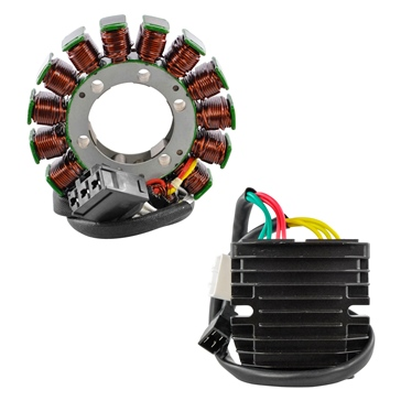 Kimpex HD Generator Stator & Mosfet Voltage Regulator Kit Fits Aprilia - 225832