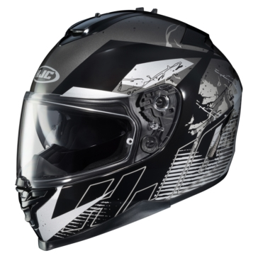 HJC IS-17 Full-Face Helmet Blur - Summer