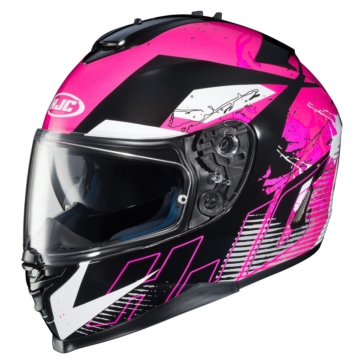 HJC IS-17 Full-Face Helmet Blur - Summer