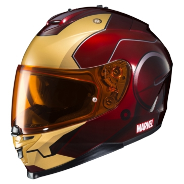 HJC IS-17 Full-Face Helmet Iron Man