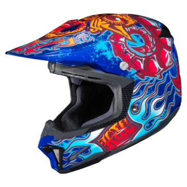 HJC CL-X7 Off-Road Helmet Zilla