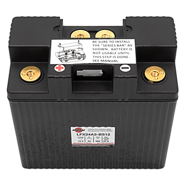 SHORAI LFX Battery LFX24A3-BS12
