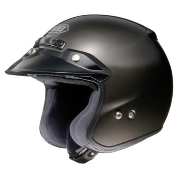 SHOEI RJ Platinum-R Open-Face Helmet Solid