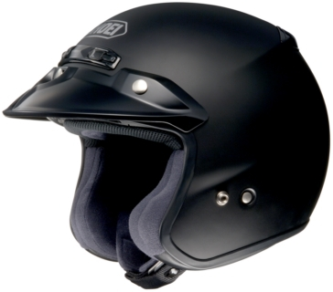 SHOEI RJ Platinum-R Open-Face Helmet Solid