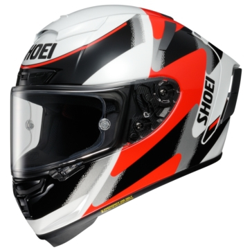 SHOEI X-Fourteen Full-Face Helmet Rainey