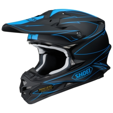 SHOEI VFX-W Off-Road Helmet Hectic
