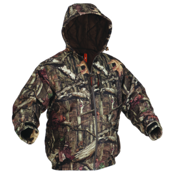 Absolute Outdoors Manteau Quiet Tech Hooded Arcticshield Mossy Oak infinity