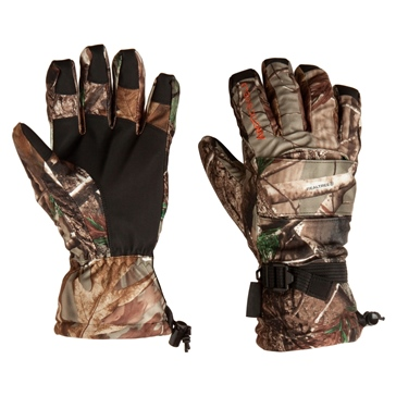 Realtree AP ABSOLUTE OUTDOORS Gloves, Arcticshield Lined Camp