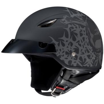 HJC CL-21M Half-Helmet Skull and Thorns