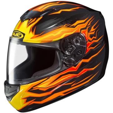 HJC CS-R2 Full-Face Helmet Flame Block