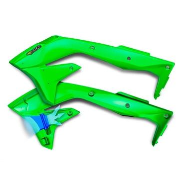 Cycra Powerflow Radiator Shroud Kawasaki Wind Deflector