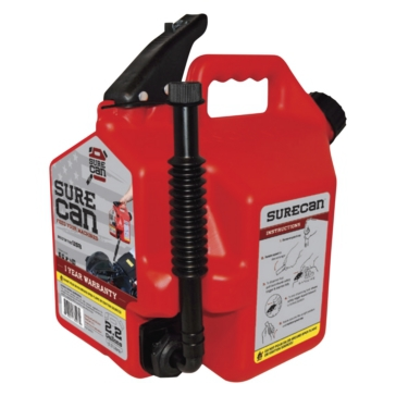 Fuel - CRSUR22G1 SURECAN 2.2 Gallons Gas Can