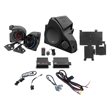 MTX AUDIO Audio System with 3 Speakers Polaris RideCommand Polaris - 3 - 400 W