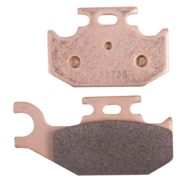 Kimpex HD HD Metallic Brake Pad Metal - Front right, Rear left