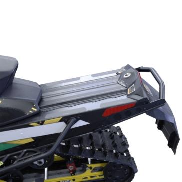 Skinz Aluminum-Polished Bumper Rear - Aluminium - Fits Ski-doo