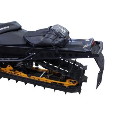 Skinz Protective Gear Aluminum-Polished Bumper Rear - Aluminium - Ski-doo