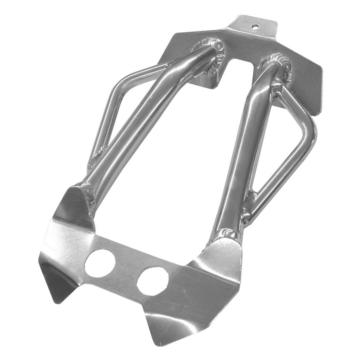 SKINZ PROTECTIVE GEAR Aluminum-Polished Bumper Polaris