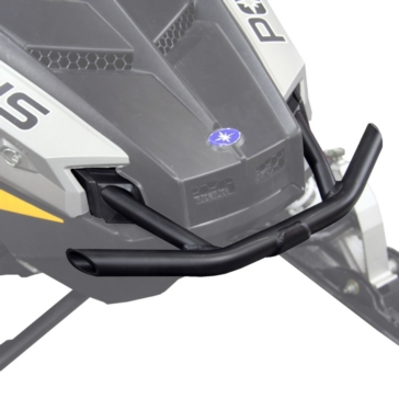 Skinz Aluminum-Polished Bumper Front - Aluminium - Fits Polaris